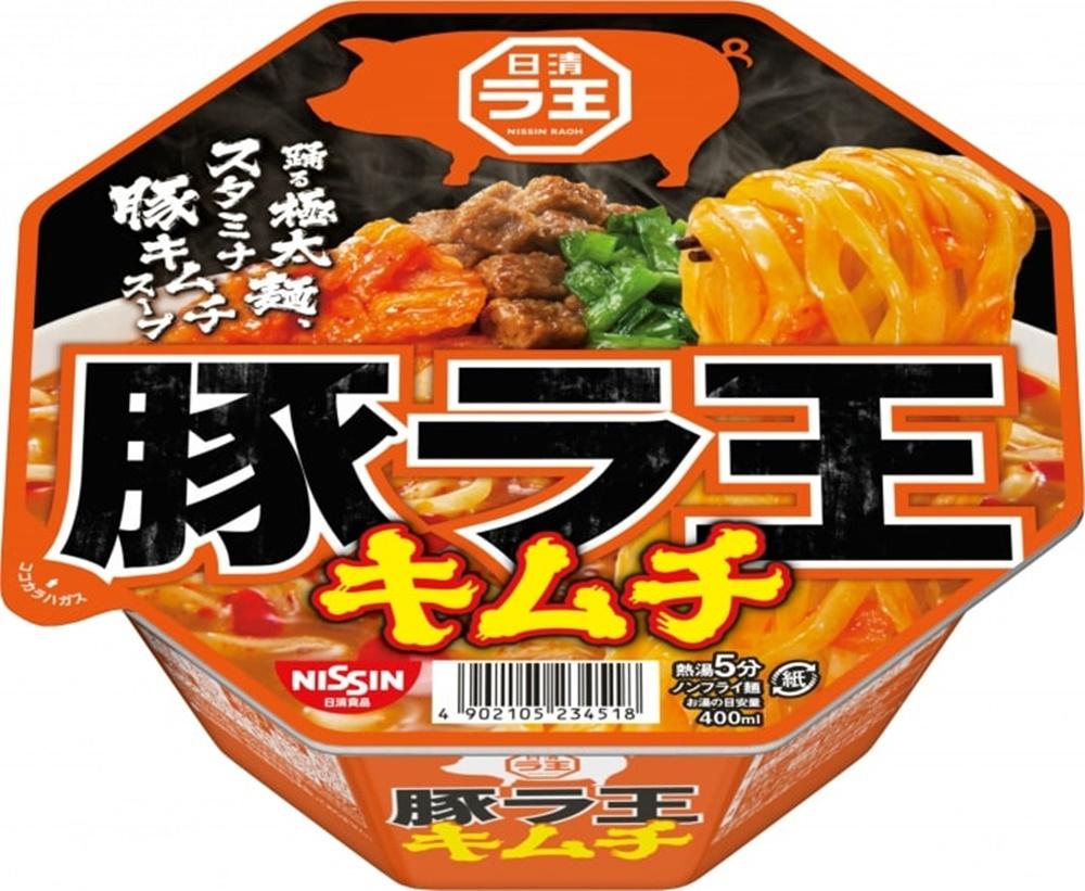 닛신 라오 부타김치(돼지 김치) 컵라면