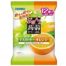곤약젤리 청포도+오렌지 12개입
