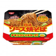 닛신 야키소바 컵 (치킨 스프 부착) 104g